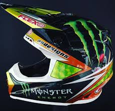 custom painted motocross helmets badass motorcycle art with apdesignsusa