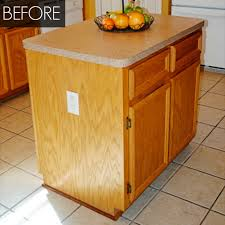 How To Win A Kitchen Makeover - kitchen island makeover kitchen before and after