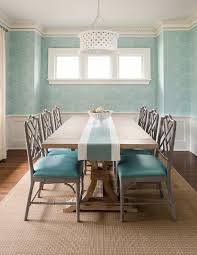 Aqua Dining Room Gray And Turquoise Blue Dining Room Transitional Dining Room