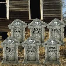 tombstones for tombstones yard decoration