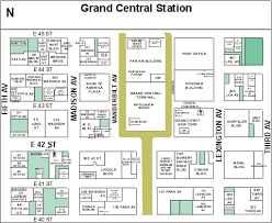 grand central terminal map railroad stations in york