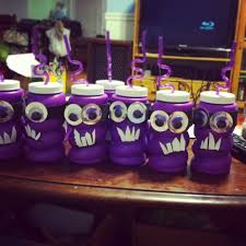 goody bands for teeth made these evil minion party cups for goody bags for letty s party