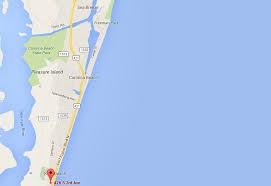 Island Beach State Park Map by Adjust My Latitude