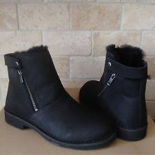 ugg womens frances boots black ugg australia womens cobie fawn ankle boots 1010191 shoes 6 5 ebay