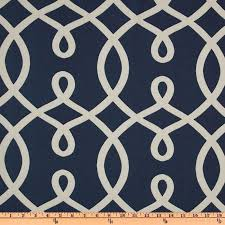 Custom Trellis Panels Hand Made Custom Designer Curtain Panels Navy Linen Duralee Loop
