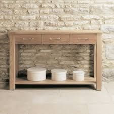 modern console table with drawers mobel solid oak modern console table 3 drawers console tables