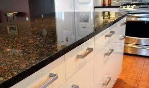 white kitchen cabinets with antique brown granite coffee brown granite
