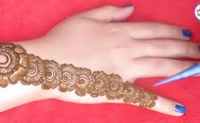 gorgeous mehndi designs for back floral henna artsycraftsydad