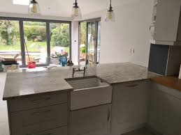 interior interesting colonial white granite with white wood