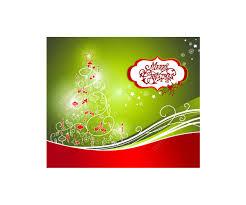 christmas card psd template christmas lights decoration