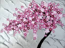 76 best pink images on cherry blossom painting