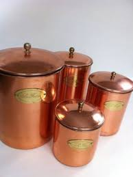 copper kitchen canister sets vintage canister set i have this set for sale at pickers paradise