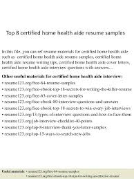 aide resume certified home health aide sle resume unforgettable home