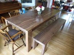 dining room table bench pads with high back seat plans set canada