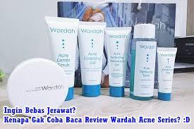 Bedak Tabur Wardah Anti Acne wardah acne series wajah bersih bebas jerawat