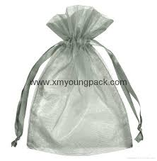 large organza bags wholesale promotional large silver organza drawstring pouch organza