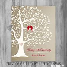 50th wedding anniversary gifts for parents 40th anniversary gift for parents 8x10 by kreationsbymarilyn