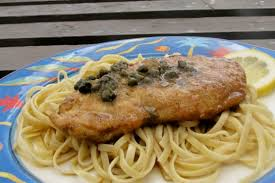 Chicken Piccata Cooking Light Light Chicken Piccata With Linguine Recipe Genius Kitchen
