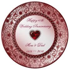custom wedding anniversary plates