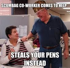 Co Worker Memes - lazy coworker meme lekton info