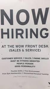 gyms hiring front desk near me megan macchia on twitter work out world red bank is hiring front