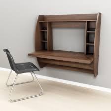 furniture prepac espresso floating desk with storage floating