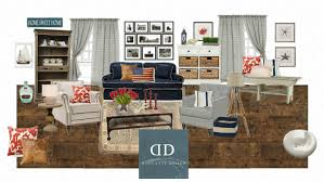 americana living room decorating clear