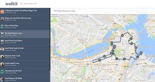 Boston Walking Map by Nomadwill Blog