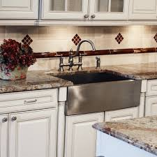 kitchen magnificent stainless steel apron front sink double