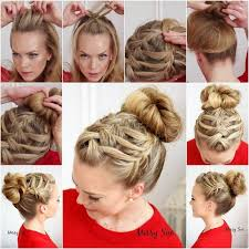 whats new in braided hair styles how to diy double waterfall triple french braid hairstyle