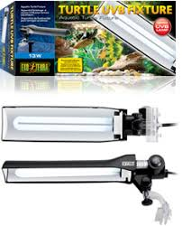 Uv Light Fixtures The Exo Terra Turtle Uvb Fixture Is Specially Designed For Aquatic