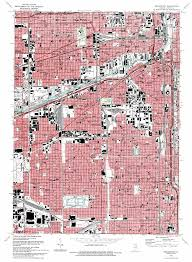 Map Chicago Il by Englewood Topographic Map Il Usgs Topo Quad 41087g6