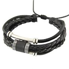 braided leather chain bracelet images Bracelets jpg