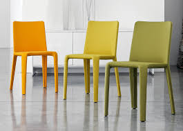 Yellow Upholstered Chairs Design Ideas Popular Yellow Dining Chair Intended For Bonaldo My Time