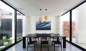 Pendant Lighting For Dining Table Interior Artistic Gold Shade Pendant Lighting Dining Over Black