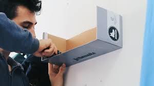 shoebox shelf custom build diy youtube