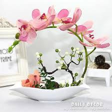 orchid flower arrangements high simulation artificial orchid flowers arrangements decorative