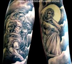 angel half sleeve tattoo designs tattoomagz