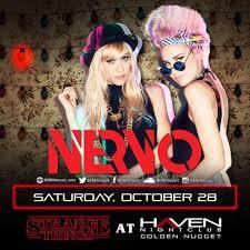 halloween w nervo haven nightclub ac saturday october 28th ak
