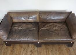 Leather Sofa Brown Interesting Worn Leather Couches With Brown Leather Sofa Also
