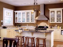 Kitchen Colors With Off White Cabinets Frosted Glass Door Wall - Wall mounted kitchen cabinets