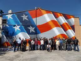 usa flag mural wall murals you ll love flag