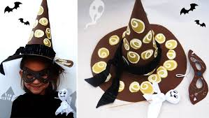 Craft Ideas For Kids Halloween - 4 easy diy halloween hat crafts for kids to complete their costume
