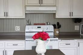 inexpensive backsplash for kitchen cheap backsplash 12 roll of paintable beadboard wallpaper