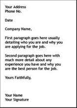 cover letter template by how to write a cover letter