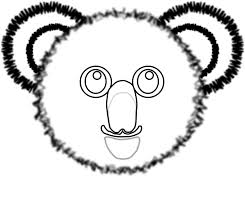 koala outline cliparts cliparts zone