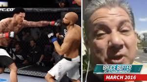 Matt Barnes Fight Bruce Buffer Calls The Matt Barnes And Derek Fisher Ufc Game