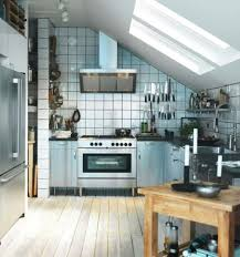 ikea small kitchen design ideas small apartment kitchen design with sloped ceiling and wooden
