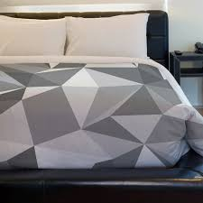 modern duvet cover geometric to inspire and dream hq home decor