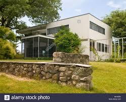 walter gropius house lincoln massachusetts usa stock photo